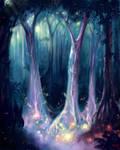 Living Trees by Bakenius