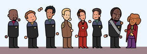 DS9 Cast simplified