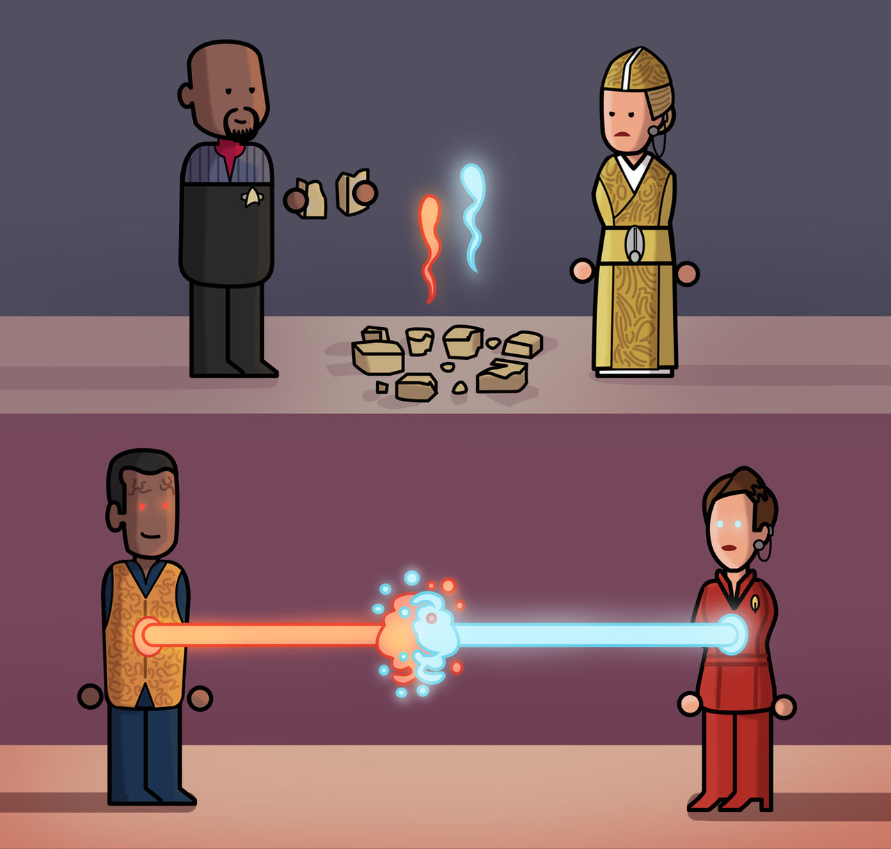 Star Trek DS9 Simplified : The Reckoning