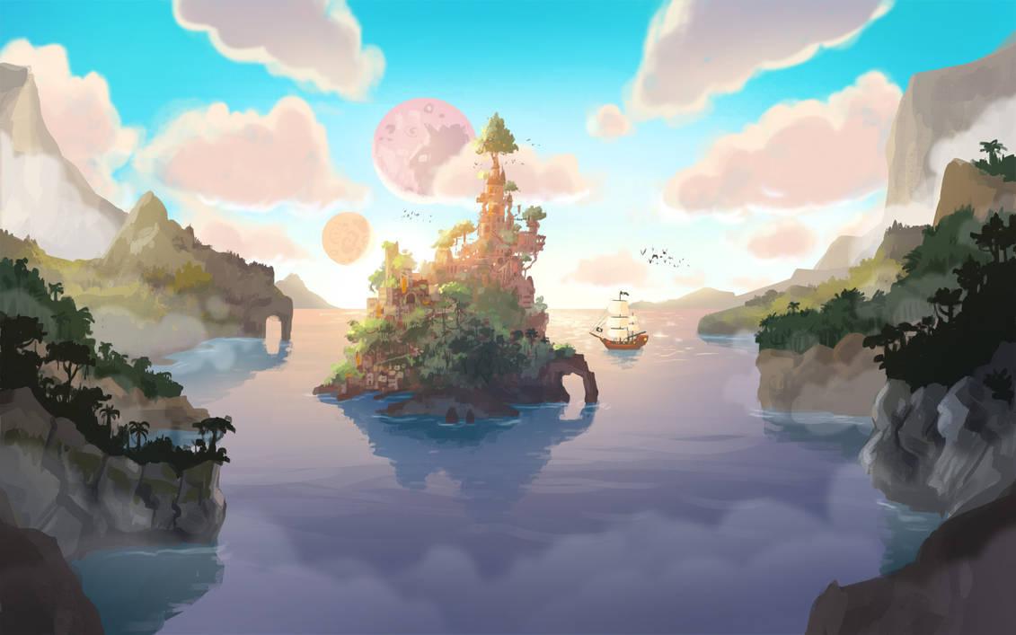 Neverland Scene1 by Bakenius