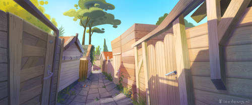 Backalley by Bakenius