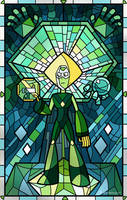 Stained Glass Peridot