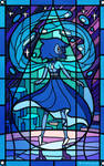 Stained Glass Lapis