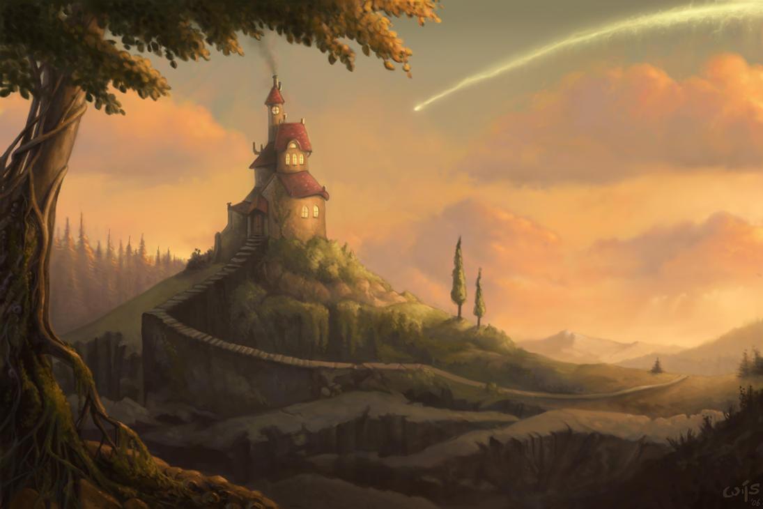 Crashing Down the Yellow Sky by Bakenius