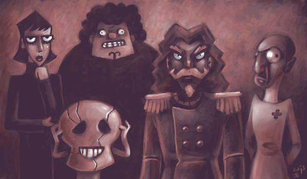 Captain Rumquist and Company by Bakenius