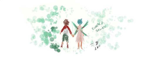 Eureka Seven by gutostrifeart