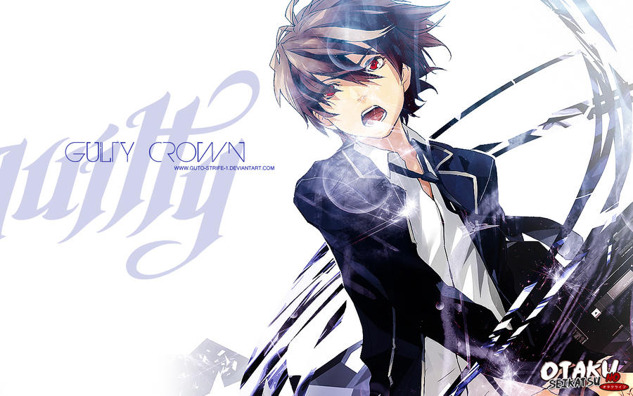Guilty Crown Wallpaper Shu by guto-strife-1