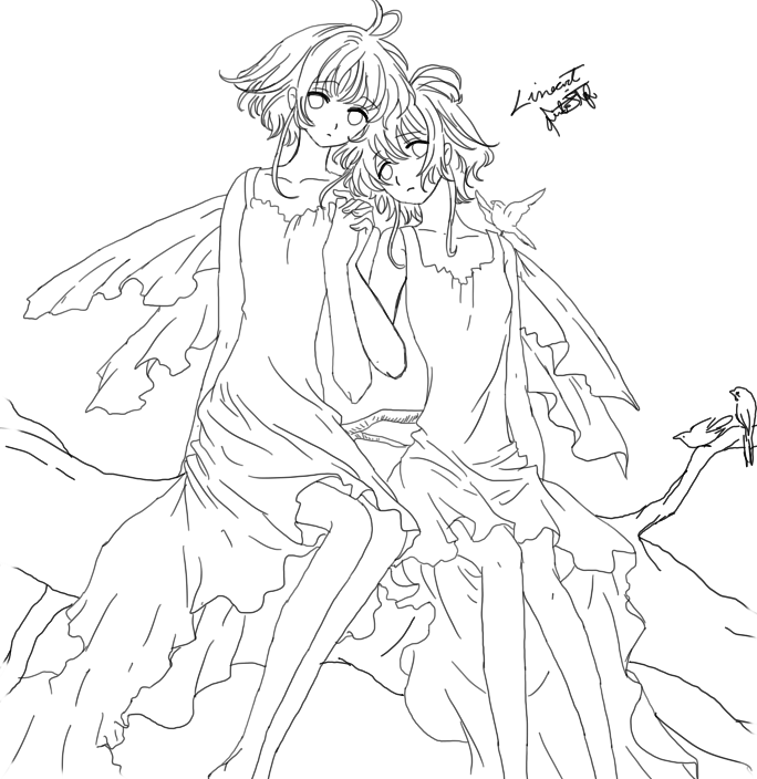Tsubasa Reservoir Chronicle I Will Save You: Tsubasa Reservoir Chronicles CAP 181 Lineart By Guto