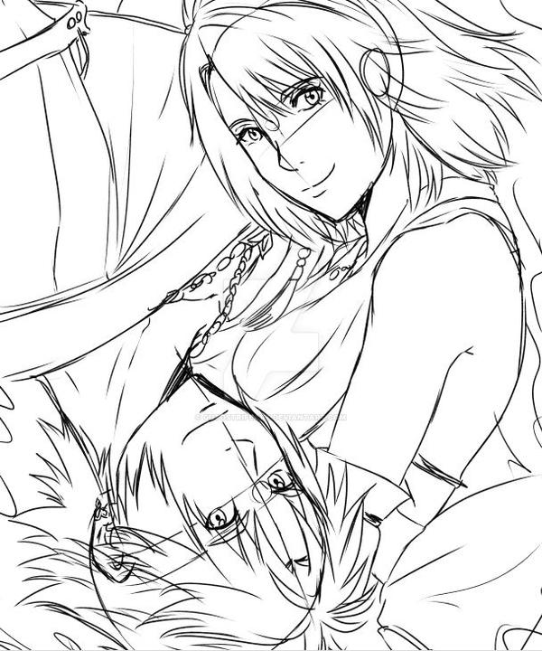 Tidus And Yuna Final Fantasy X Manga By Gutostrifeart On