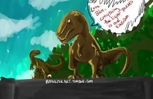 Jurassic World by BasiliskOnline