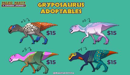[Open] Gryposaurus Adoptables