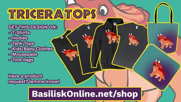 290 Triceratops ad 01