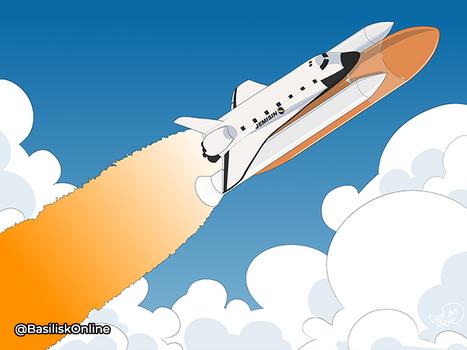 294 Space shuttle