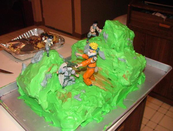 Naruto Birthday Cake By Kittychanann On Deviantart