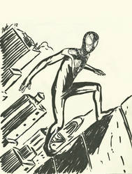 The new Ultimate Spider-Man -sketch by CagsCreations