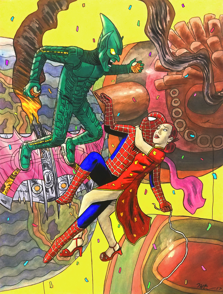 Sam Raimi Spider-Man tribute by CagsCreations