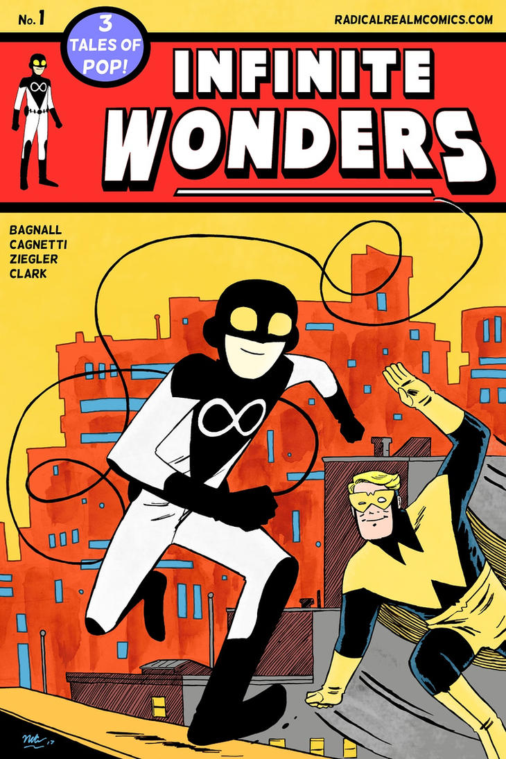 All-New INFINITE WONDERS #1 out now! by CagsCreations