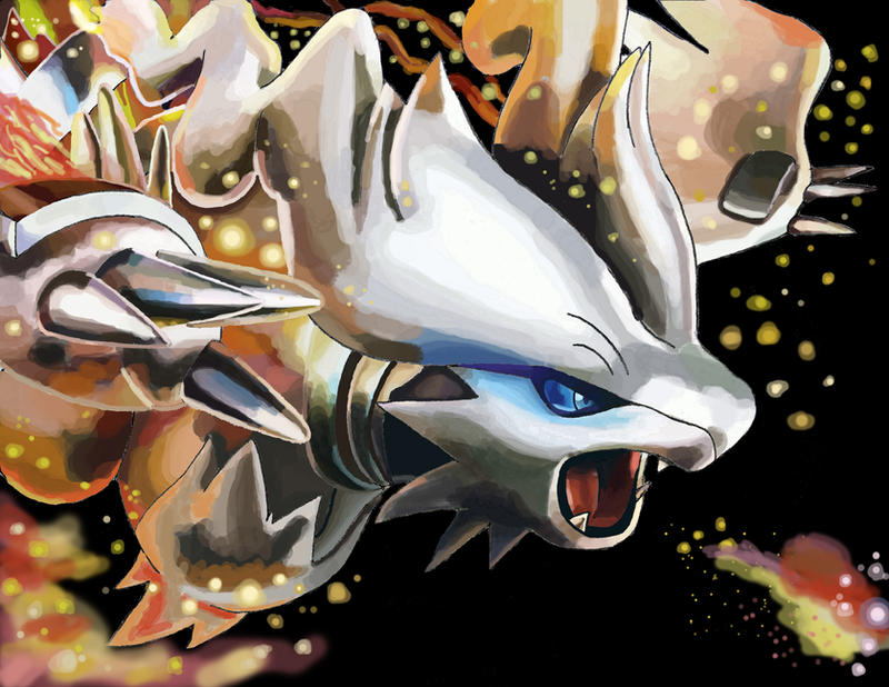 Reshiram's Heat Wave by ECrystalica