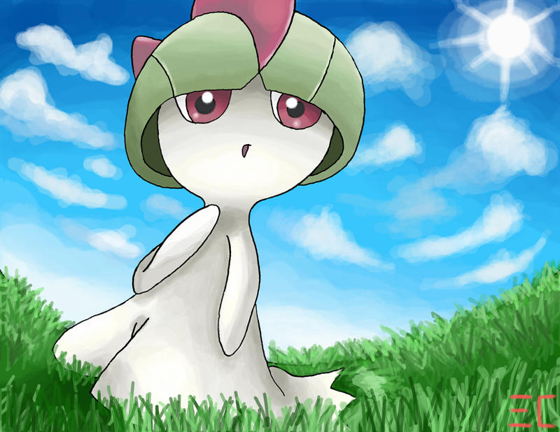 Ralts by ECrystalica