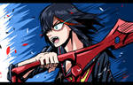 Speed Drawing: Ryuko Matoi by ECrystalica