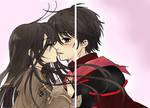 Shana and Yuji Kiss