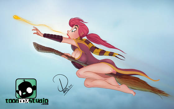 Cherry Pinup : Harry Potter Special