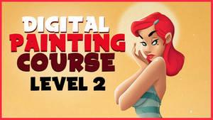 Digital Painting Cartoons Course Level 2