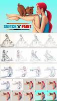 Sketch 'N' Paint by ToonBoxStudio