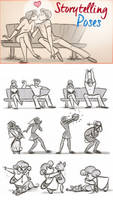 StoryTelling Poses by ToonBoxStudio