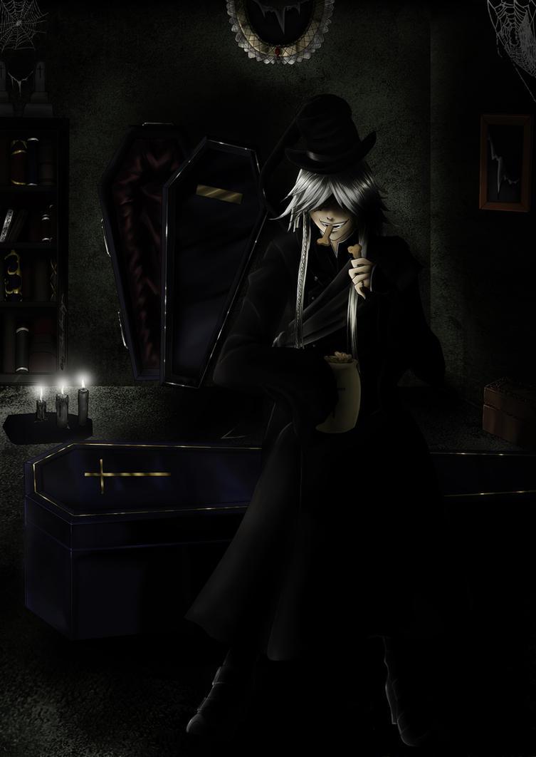 Undertaker - Kuroshitsuji by Shadow-Shana