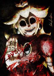 -Super Horror Princess Peach- by Shadow-Shana