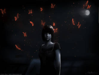 Crimson Butterflys by Shadow-Shana
