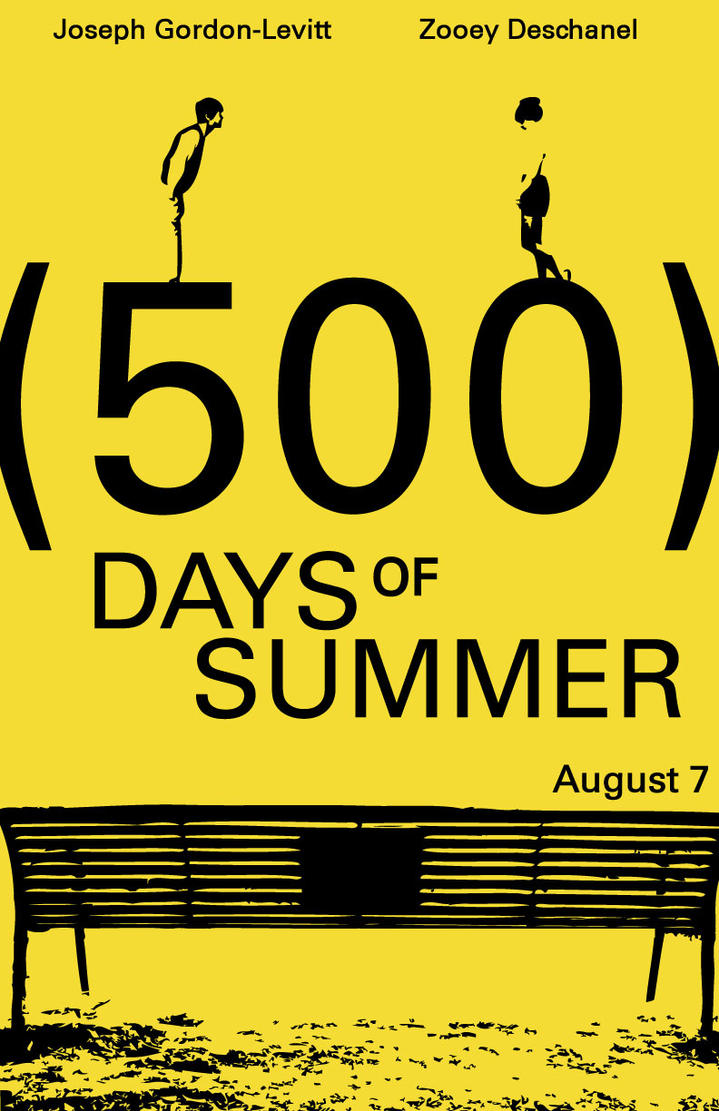 500 Days of Summer Poster by dude202 on DeviantArt