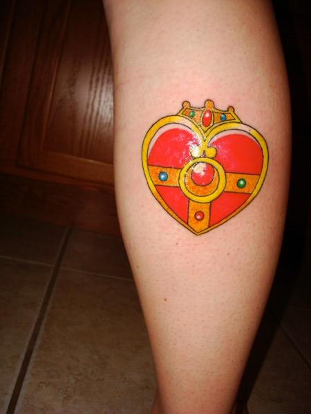 Cosmic brooch tattoo by OWcollection