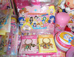 Sailor Moon Channel keychains