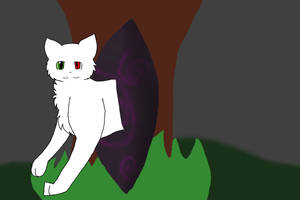 Half Demon Cat by ShadeTheCat3
