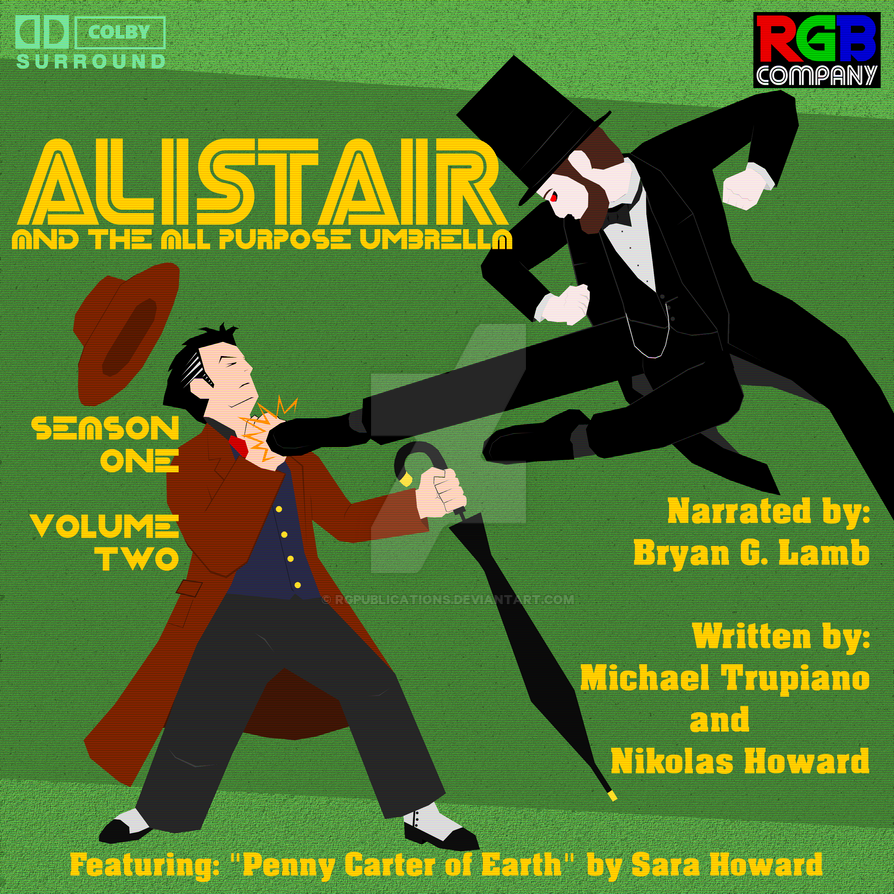 Alistair Season 1 Volume 2 audio book cover by RGPublications
