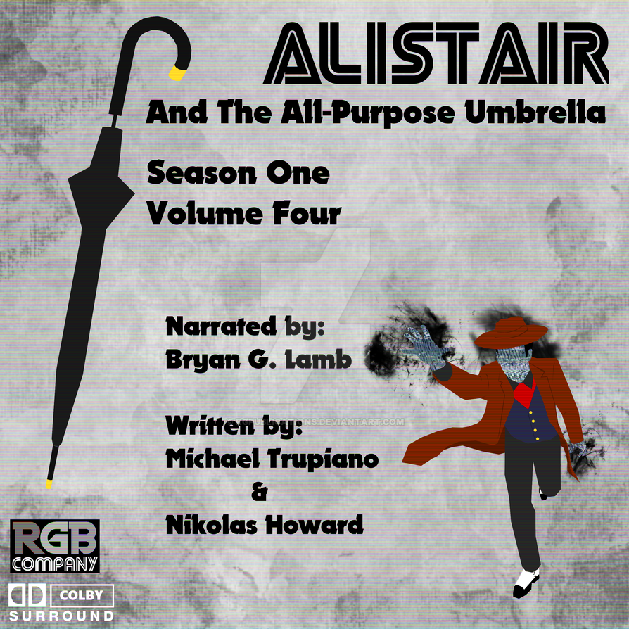 Alistair Season 1 Volume 4 audio book cover by RGPublications