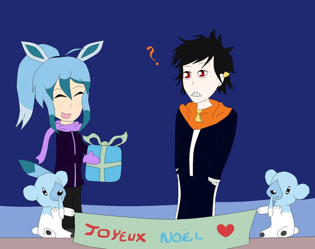 [Yolo Secret Santa] Joyeux Noel Josh' et Akyrin !! by Evaly-Chan