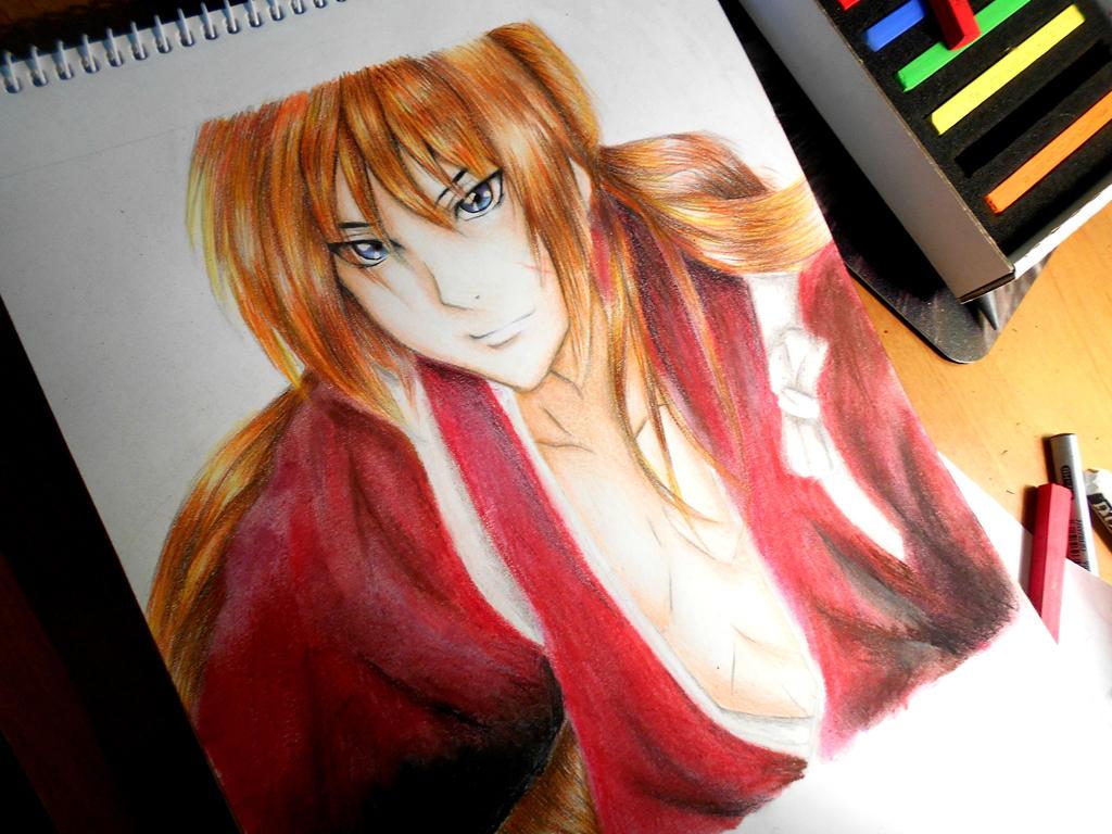 Rurouni Kenshin-Drawing by UchihaAkanee