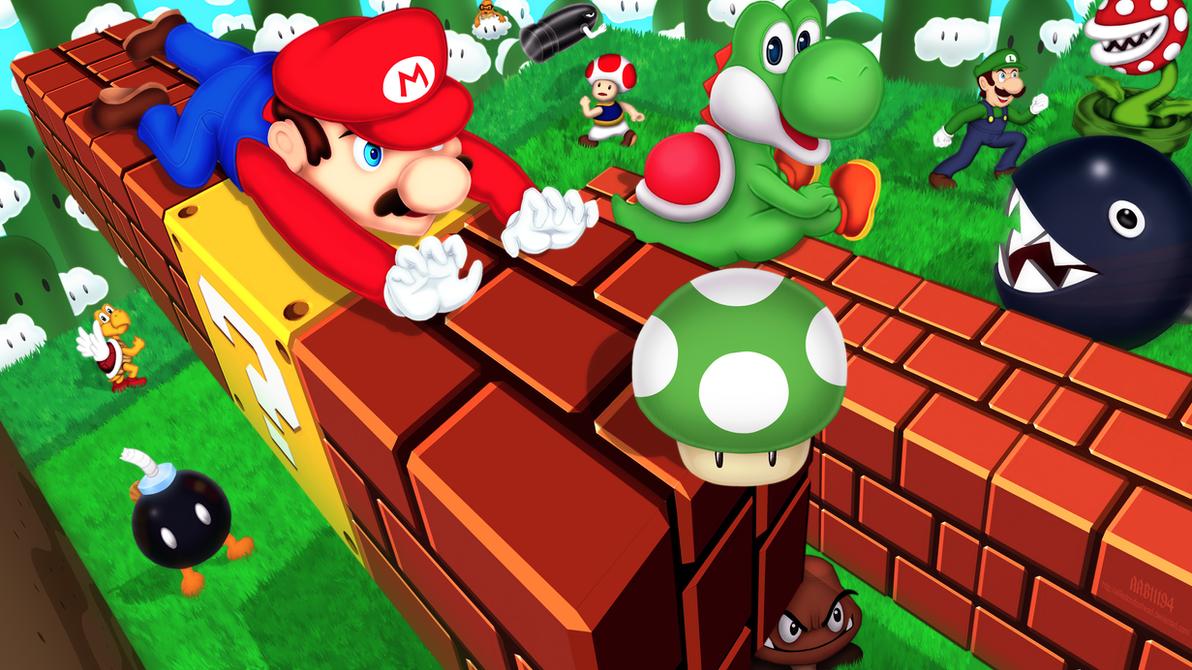 Mario Land by alfiedoodoohead