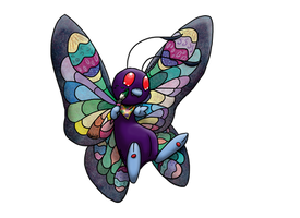 PKMN--Easter Butterfree by Kineil-Wicks