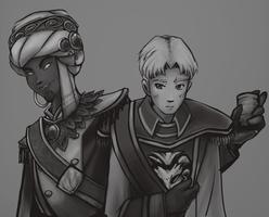 Two Princes by Sanura35