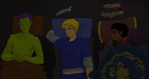 Slumber Party by Sanura35