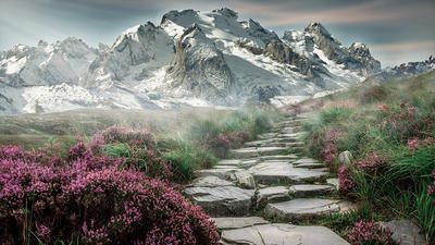 Mountain Trail by quicksilver1212