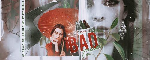 Signature: Bad Man by Rosesylla