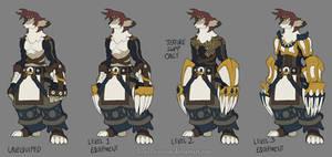 Livahk Warrior - All Equipment by LordDonovan