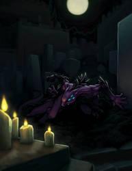 Hunting Shadow Illustration by LordDonovan