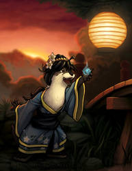 Kawauso Illustration by LordDonovan