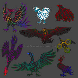 Crystal Core Currier Bird First Color Concepts